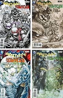 Batman Teenage Mutant Ninja Turtles Issue 1-4 (4) DC Comics