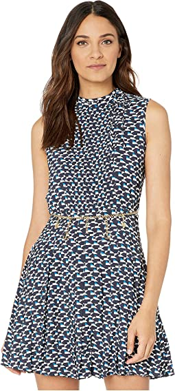 Sails Away Geo Dress
