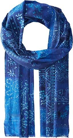 Polo Ralph Lauren - Blockprint Patchwork Scarf