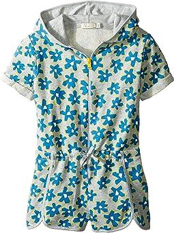 Stella McCartney Kids - Amaya Daisy Print Zip-Up Shorts Romper (Toddler/Little Kids/Big Kids)
