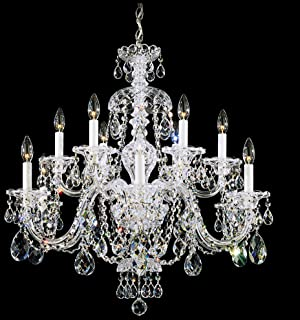 wicker chandelier lighting