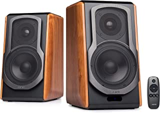 Edifier S1000DB Audiophile Active Bookshelf Speakers - Bluetooth 4.0 - Optical Input - Powered Near-Field Monitor Speaker