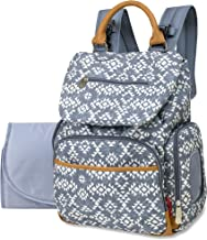 Drawstring Backpack Baby Bag with Insulated Bottle Pocket, Stroller Clips, and Wipe Storage Pocket