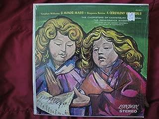 Vaughan Williams: Mass in G Minor / Benjamin Britten: Ceremony of Carols