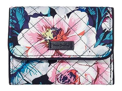 Vera Bradley Iconic RFID Riley Compact Wallet (Garden Grove) Bags