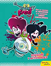 Lucky Fred. La gran aventura espacial: Libro de stickers (Lucky Fred (planeta Junior)