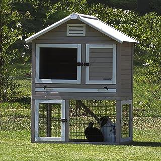 Precision Pet 7019130 Rabbit Playhouse