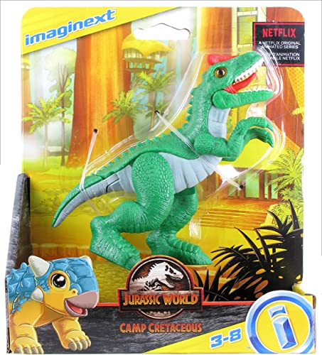 new arrival Fisher-Price Imaginext popular Jurassic World outlet sale Camp Cretaceous Allosaurus outlet online sale