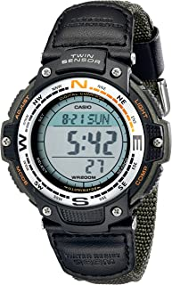 Casio Men's SGW100B-3V Digital Compass Twin Sensor Sport...
