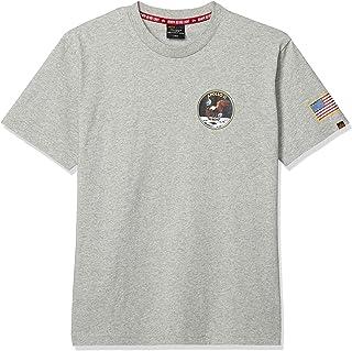 [アルファ インダストリーズ] Tシャツ 【公式】半袖 NASA アポロ11 プリントTシャツ TC1418-1