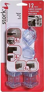 Stork 儿童护理产品角垫(12 件装)