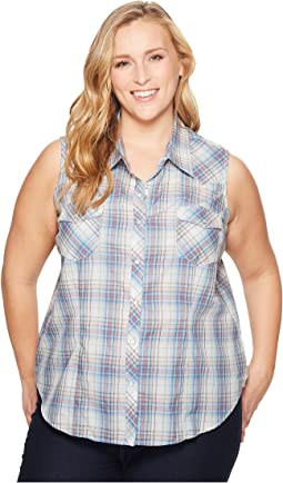 Roper Plus Size 1640 Multicolored Small Plaid