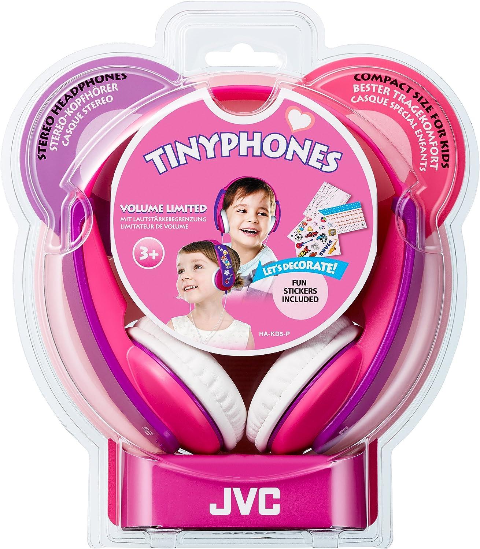Jvc Ha Kd5 Y E Kinder Stereo Kopfhörer Mit Reduzierter Elektronik