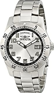 Invicta Men's 5249S Pro Diver Stainless Steel Silver Dial Watch