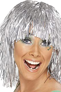 Smiffy's Metallic Tinsel Wig