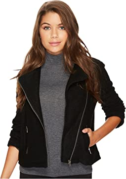 Jack by BB Dakota - Karel Textured Knit Moto Jacket