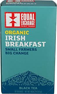 EQUAL EXCHANGE Organic Irish Breakfast Tea, 20 CT