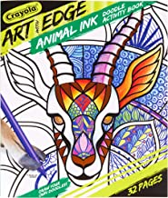 Crayola Jungle Animal Coloring Book, Teen & Adult Coloring, 32 Pages