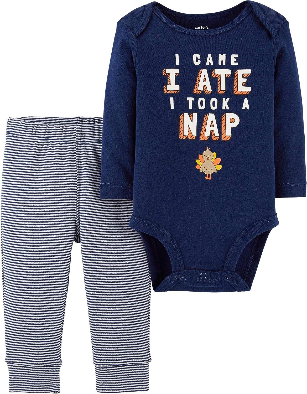 Carter's Baby 2-Piece Max 75% OFF Regular discount Thanksgiving Pant Set Bodysuit