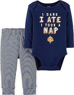Carter`s Baby 2-Piece Thanksgiving Bodysuit Pant Set