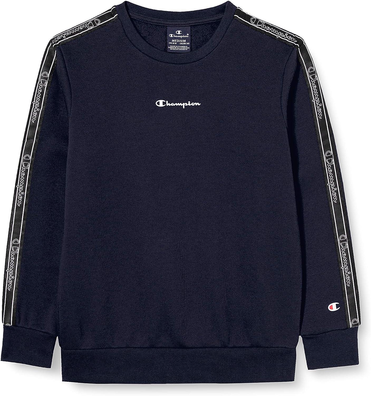 Champion M/ädchen Boys Seasonal Tape Sweatshirt
