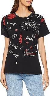 MujerRopa Blusas Amazon esPinko CamisetasTops Y pjLUVGqMSz