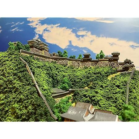 [城ミニ] 日本100名城 現存天守12城 伊予松山城 ケース付き お城 模型 ジオラマ完成品 ミニサイズ
