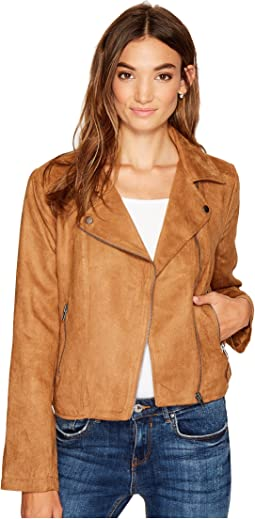 Jack by BB Dakota - Johanness Woven Faux Suede Jacket