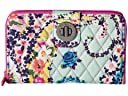 Vera Bradley Rfid Turnlock Wallet (Wildflower Paisley)