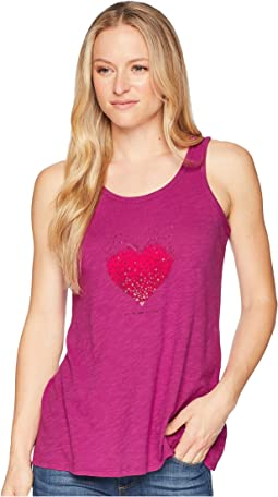 Heart Love Breezy Tank Tee