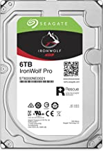 Seagate IronWolf Pro 6 TB NAS RAID Internal Hard Drive - 7,200 RPM SATA 6 Gb/s 3.5-inch (ST6000NE0021)