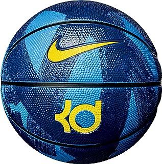 a1873365008 Bola de Basquete Nike KD Mini Tamanho 3 - Azul com Amarela