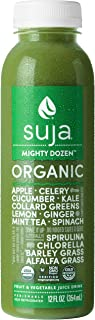 Suja Mighty Dozen, Organic & Cold-Pressed Vegetable and Fruit Juice, 12 oz