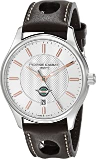 Frederique Constant Men's FC303HV5B6 Healey Analog Display Swiss Automatic Brown Watch