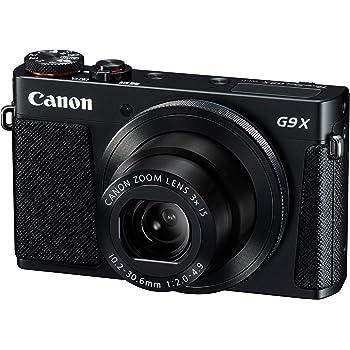 Canon デジタルカメラ PowerShot G9 X(ブラック) 光学3.0倍ズーム 1.0型センサー PSG9X(BK)