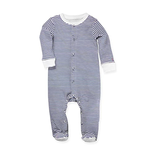 b487ccbadf02 Amazon.com  1212 Unisex Baby Footed Pajama with Non-Skid Feet - 100 ...