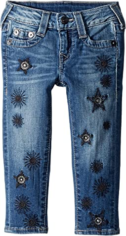 True Religion Kids - Casey Skinny Jeans in Star Wash (Toddler/Little Kids)