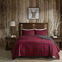 Woolrich Check Quilt Mini Set Full/Queen Red