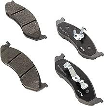 ACDelco 14D477CH Advantage Ceramic Front Disc Brake Pad Set