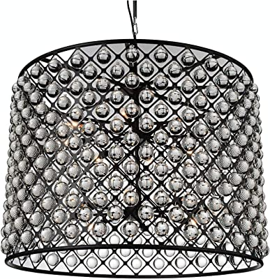 Winretro Modern Metal Crystal Chandelier Gold Plating Finish ...