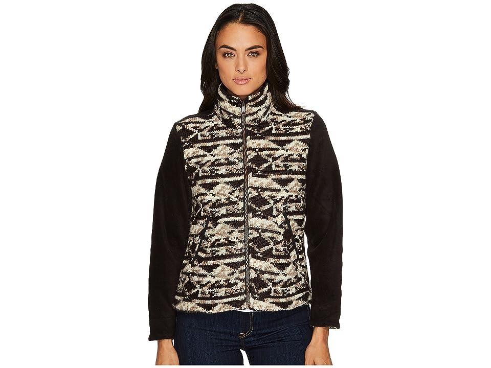 Woolrich Northglen Wool Fleece Jacket (Black) Women