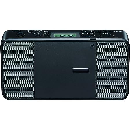 東芝 CDラジオ スリム レジュームA-BリピートCD-R対応 TY-C251(K) ブラック