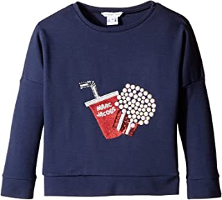 [マークジェイコブス] Little Marc Jacobs レディース Fancy Milano Sweater (Little Kids/Big Kids) トップス [並行輸入品]