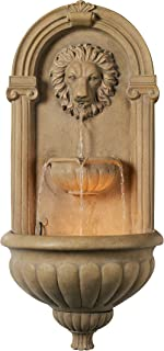 Kenroy Home 50026COQN Regal Wall Fountain, Coquina Finish