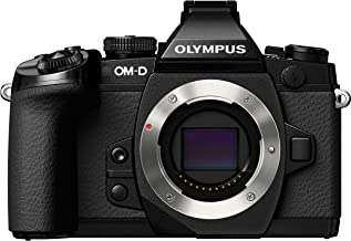 Olympus OM-D E-M1 Mirrorless Digital Camera with 16MP and 3-Inch LCD (Body Only) - Black (Certified Refurbished)