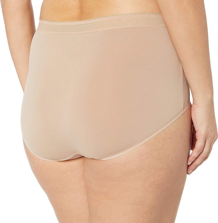 Warner's Plus Size Breathe Freely Brief Panty