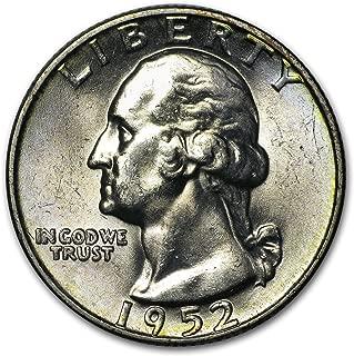1952 D Washington Quarter BU Quarter Brilliant Uncirculated