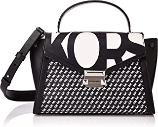 Michael Kors Satchel Bag for Women- Black/White