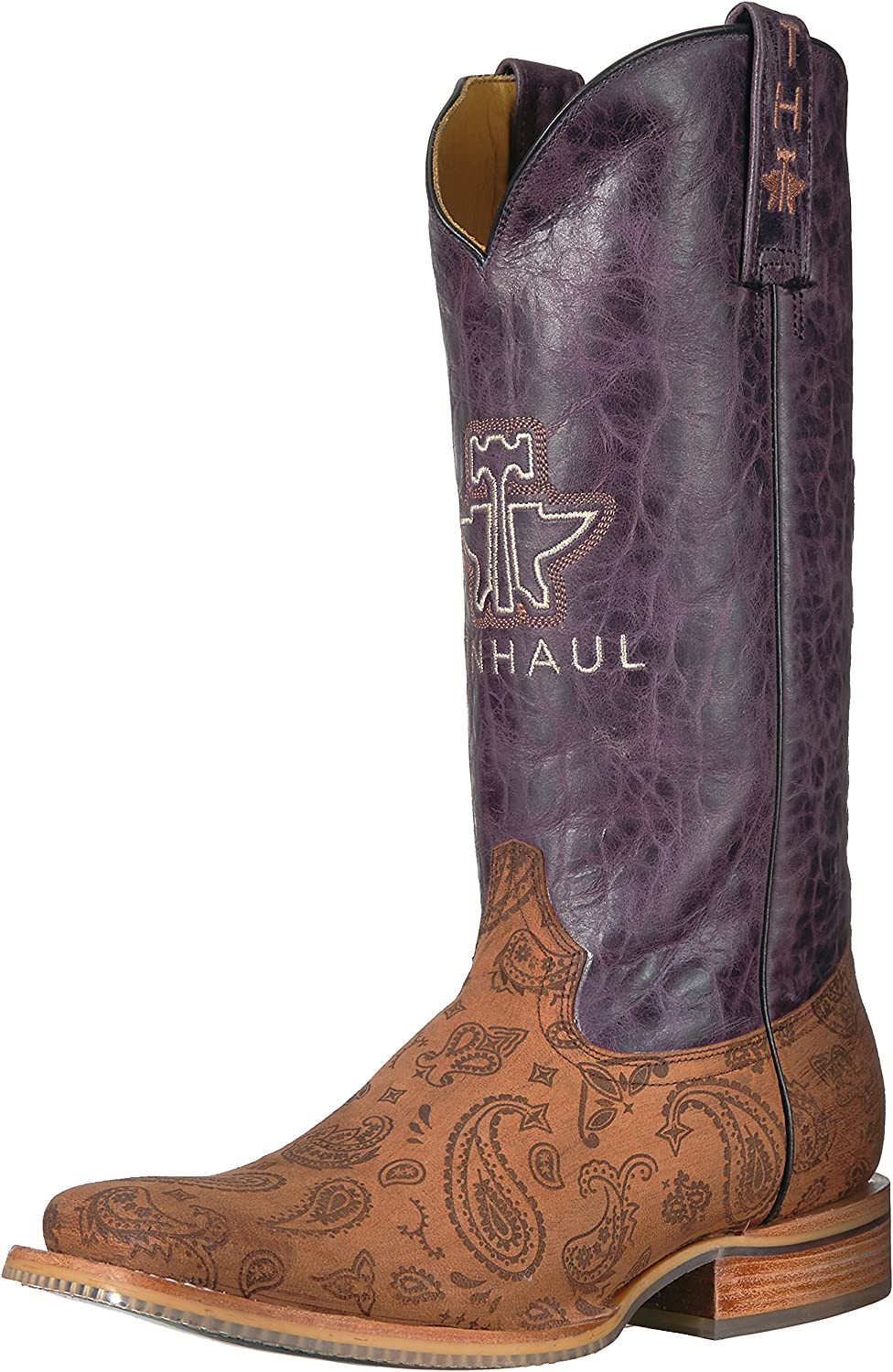 Tin Haul shoes Womens Paisley Rain Western Boot