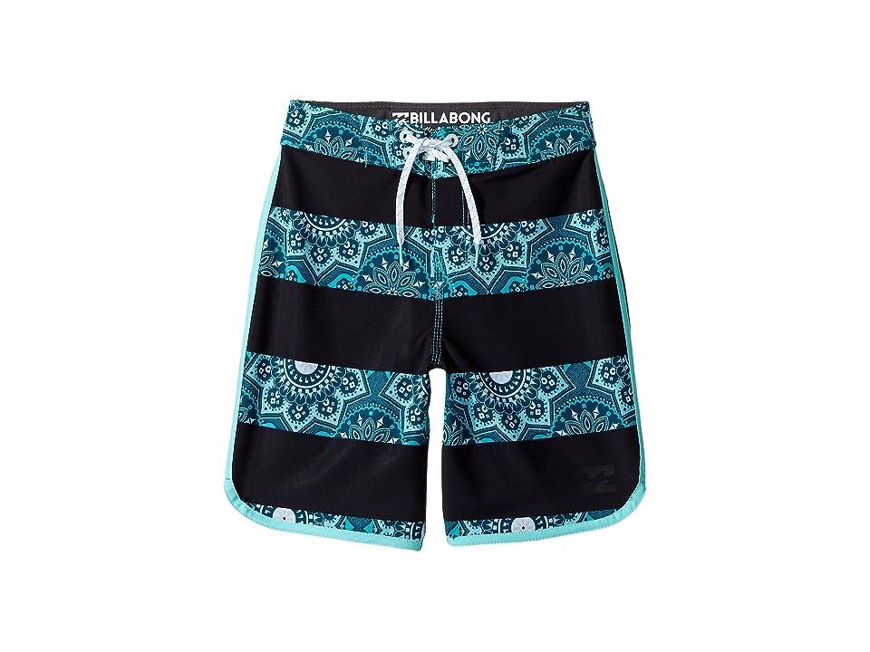 Billabong Kids 73 X Lineup Boardshorts (Big Kids) (Ocean) Boy